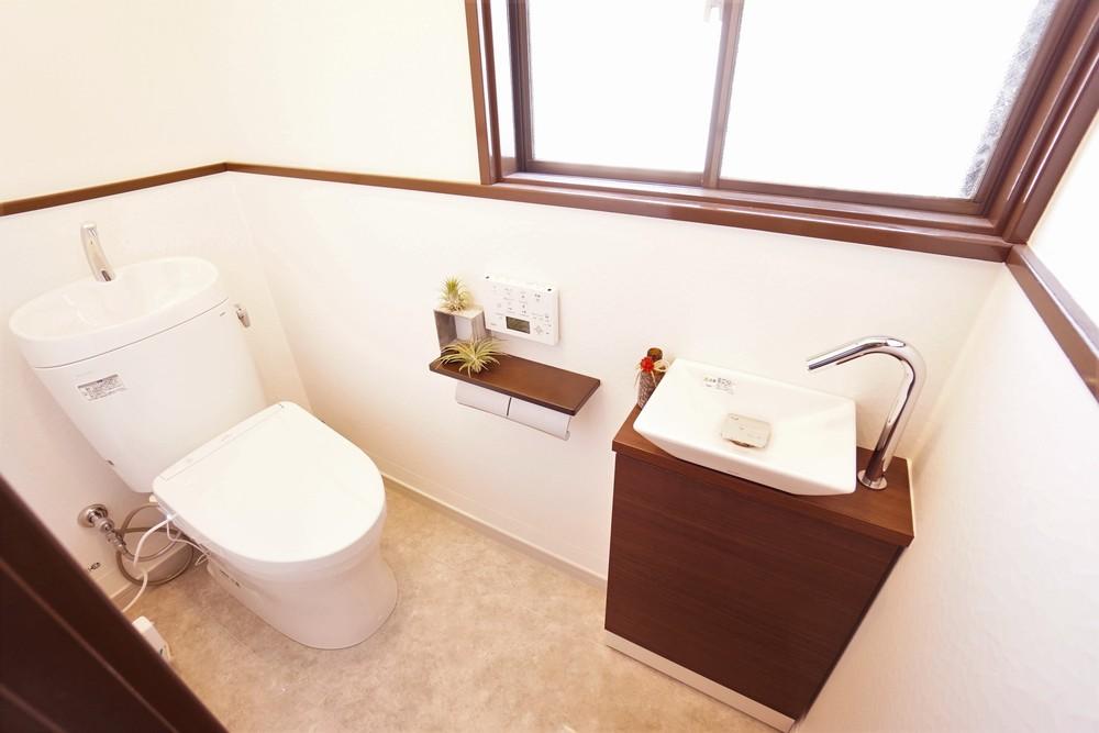 施工事例を小出しに紹介④~トイレ~